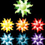 7 soleils chakra com animal